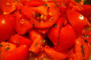 Spaghetti al crudo - gyors paradicsomos tészta
