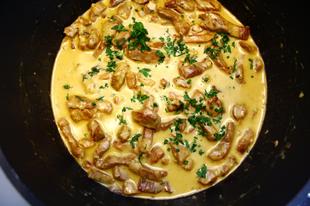 Vasárnapi ebéd - Mustáros tokány zöldbabbal