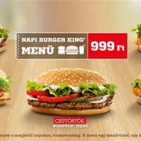 Megújult a napi Burger King menü!