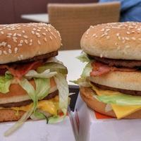 Baconnel jobb? - Big Mac Bacon és BLT