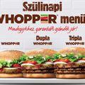 Szülinapi #extravaganza a Burger Kingben!
