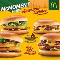 Sajtburger és Chickenburger amerikai ízekkel