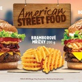 Amerikai Street Food a cseh Burger Kingben