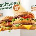 Extra sajtos Sajtburger és visszatérő Big Macek a Mekiben!