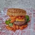 Édesburgonya hamburgerben? - Sweet Potato Burger