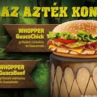 Avokádós Whopperekkel támad a Burger King