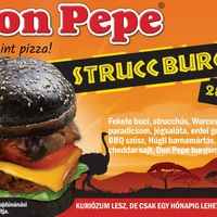 Struccburger a Don Pepében!