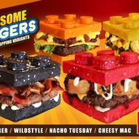 Ehető Lego burgerek a Fülöp-szigeteken