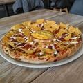 Nachos tál pizzán? - Macho Nachos Pizza