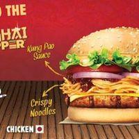 Tésztás szendvics az indiai Burger Kingben