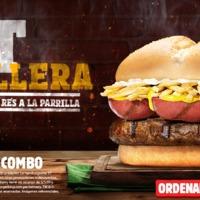 Kolbászol a perui Burger King