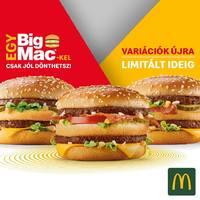 Ismét bacon és zöldségek a Big Mac-ben!