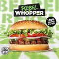 100% Whopper 0% hús???