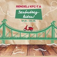KFC házhozszállítás után itt a hídhozszállítás!