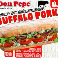 Kemencében sült szendvics különlegesség a Don Pepében