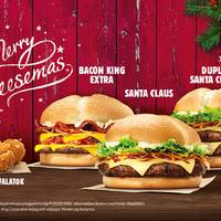 A Burger Kingben már karácsony van