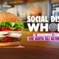 Sajátos módon támogatja a koronavírus elleni küzdelmet az olasz Burger King