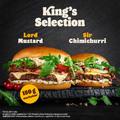 Királyi választék a Burger Kingben