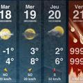 Várható időjárás