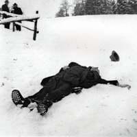Halott a hóban