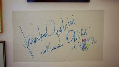 Írás a falon