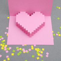 Valentin napi kártya saját kezűleg