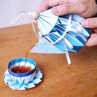 Origami teáskészlet