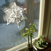 Ma is aktuális: hópihe dekoráció pár perc alatt