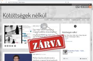 Blogzárta