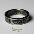 Menő gyűrűk régi pénzérmékből újrahasznosítva