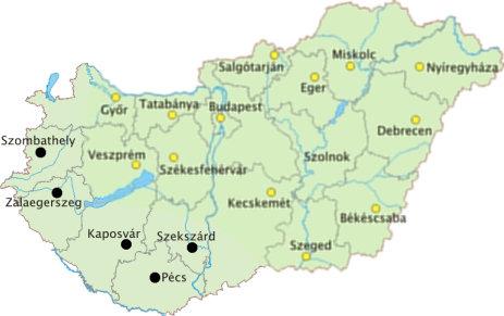 magyarország térkép zalaegerszeg De Drága Ország Szégyenpadon Magyarország   BHIM magyarország térkép zalaegerszeg