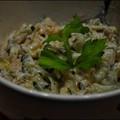 Kapros-Uborkás-Tonhalas tésztasaláta