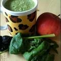 Fűszeres-aszalt szilvás zöld turmix