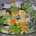 Kefíres tojásos saláta