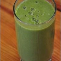 Ananászos krémesen zöld ital