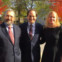 Vezető izraeli politikusok a Stratégiai Tanulmányok Központjában