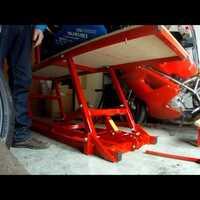 Bazzaz Traction Control activled, hidraulikus emelőpad