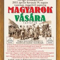 Áprilisi Magyarok vására felnémetiek szervezésében