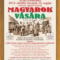 Magyarok vására vasárnap!
