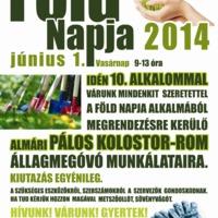 A Föld Napja 2014 Almárban!