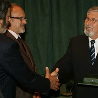 Pro Natura díj dr. Kárász Imrének