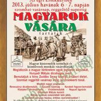 Felnémeti egyesület szervezi a Magyarok Vásárát