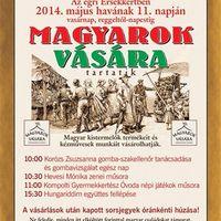 Magyarok vására az Érsekertben