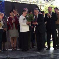 Román Gáborné Maja, felnémeti Mocorgótársunk vehette át a Pro Agria díjat