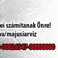 Segítsen a májusi árvíz károsultjainak!