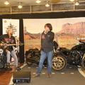 """""""Ugye, eljössz még?"""" énekelte Szigeti Ferenc egy Harley-Davidsonon ülve"""