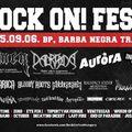 ROCK ON! FEST 2015 - Népliget helyett a Barba Negra Trackben!