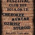 HARD ROCK FESZTIVÁL - négy remek banda a Club 202-ben