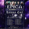 Közös turnéra indul az Epica és a Lacuna Coil