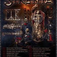 Európai turnéra indul a Sirenia